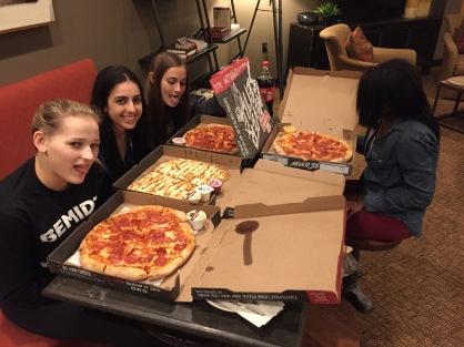 Dinner for E3 girls LaCrosse