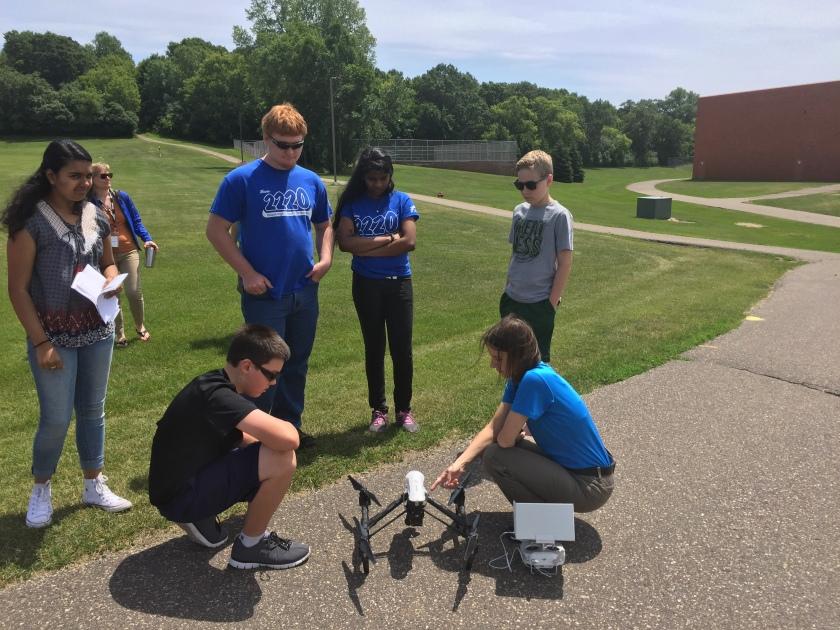 Drone reveiw outside