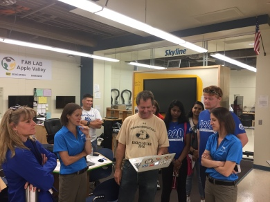 Fab Lab tour with PAAP Drone