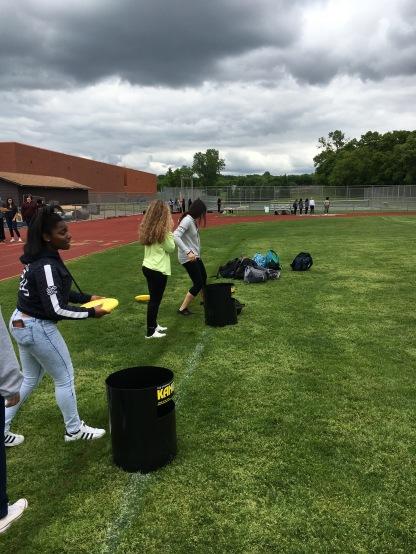 Frisbee activity E3 STEM