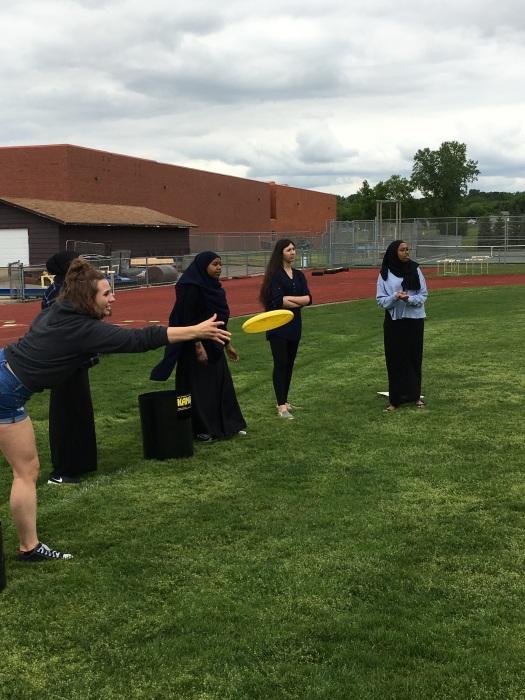 Frisbee challenge
