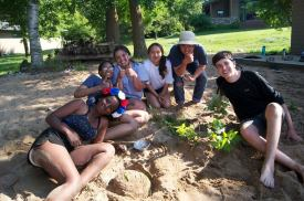 LT Olympics sand sculpture challenge 1