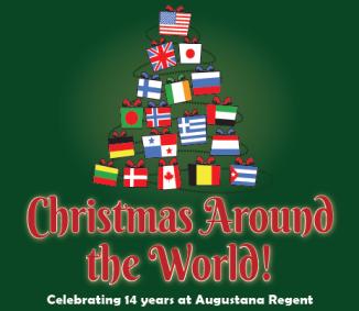 Augustana Xmas Tree Event