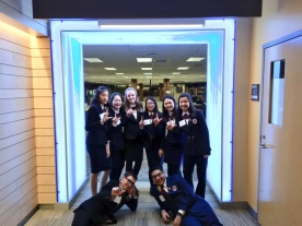 HOSA team in Rochester