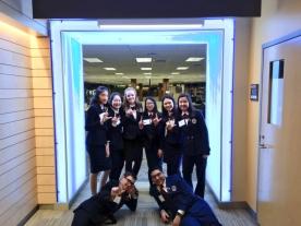 HOSA team in Rochester