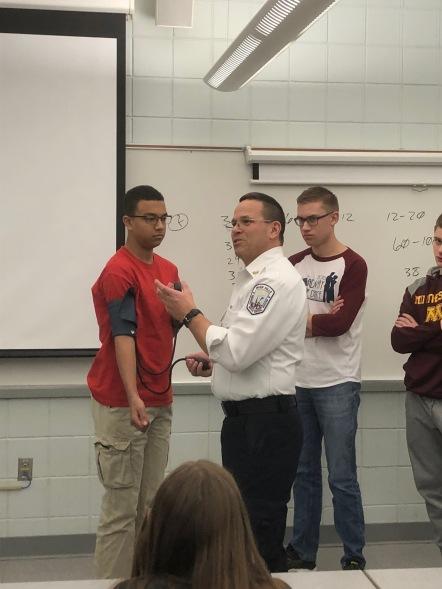Jim teaching BP to group 2
