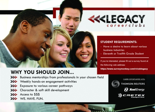 Legacy Career Clubs Requirements Flyer FINAL